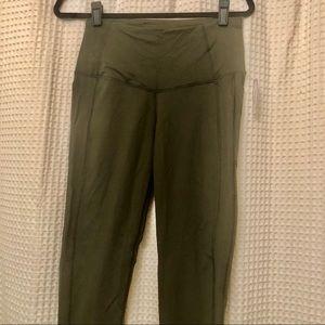 NWT VSX Sport Olive Green leggings size M